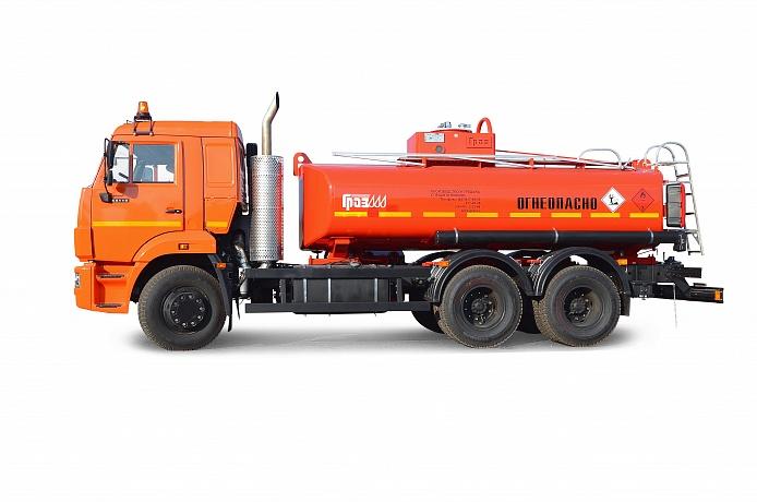 Топливозаправщики от завода ГРАЗ
